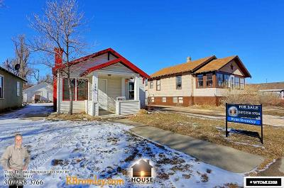 Casper Single Family Home For Sale: 126 N Wilson