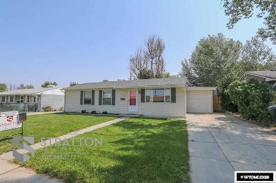 Casper, Evansville, Bar Nunn, Glenrock, Douglas, Midwest, Alcova Single Family Home For Sale: 1625 Cody