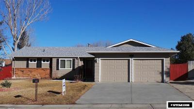 Casper Single Family Home For Sale: 1575 Trojan