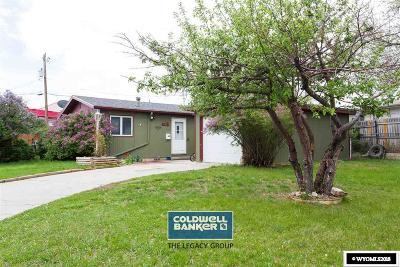 Casper, Evansville, Bar Nunn, Glenrock, Douglas, Midwest, Alcova Single Family Home For Sale: 189 Honeysuckle