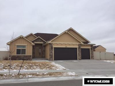 Casper WY Single Family Home For Sale: $460,000