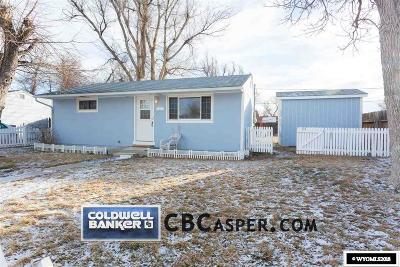 Casper WY Single Family Home For Sale: $112,000
