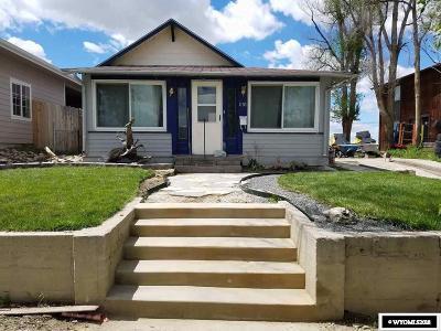 Casper WY Single Family Home For Sale: $134,000