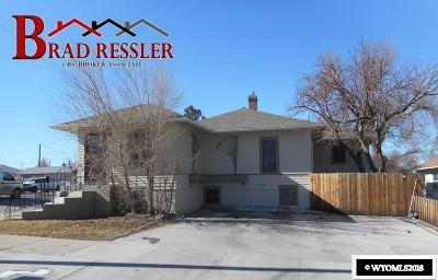 Casper WY Single Family Home For Sale: $195,000