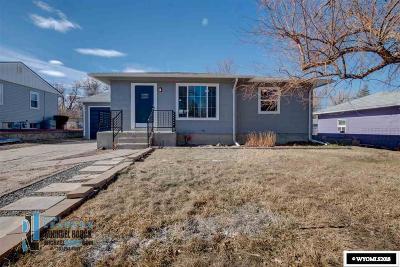 Casper Single Family Home New: 2622 S Coffman