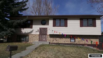 Casper Single Family Home For Sale: 1400 Bretton