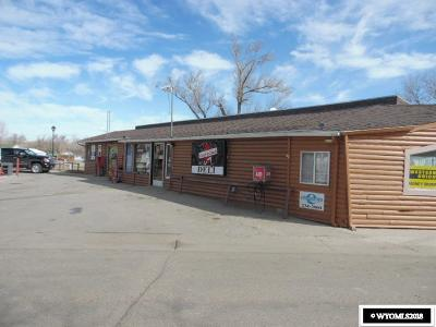 Glenrock Commercial For Sale: 10 S 3rd