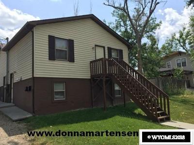 Casper Multi Family Home For Sale: 919 E 3rd