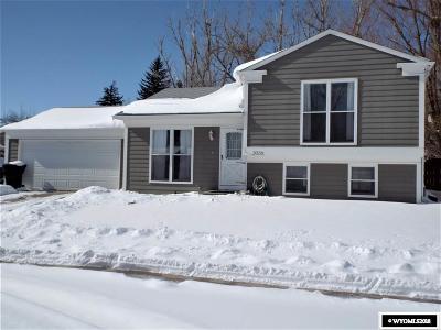 Casper Single Family Home New: 2036 Glendo
