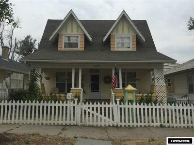 Casper Single Family Home For Sale: 348 S Kimball