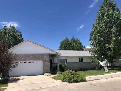 Evanston WY Single Family Home For Sale: $289,000
