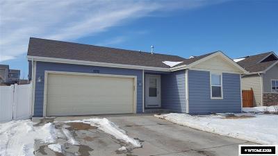 Casper Single Family Home For Sale: 3176 Whispering Spring