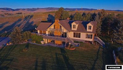 Buffalo WY Single Family Home For Sale: $739,900