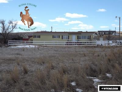 Casper WY Single Family Home Back On Market: $115,000