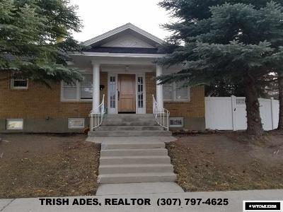 Casper Single Family Home For Sale: 331 W 14th