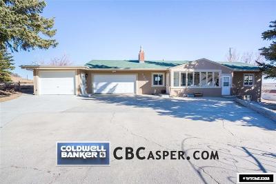 Casper WY Single Family Home For Sale: $395,900