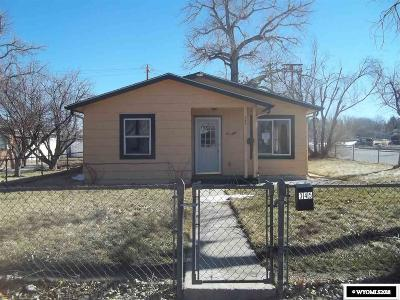Casper Single Family Home For Sale: 345 S Lowell