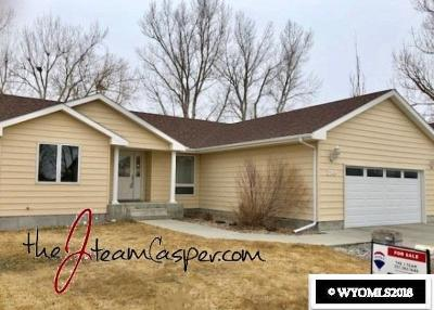 Casper WY Single Family Home For Sale: $310,000