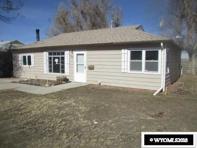 Casper WY Single Family Home For Sale: $110,000