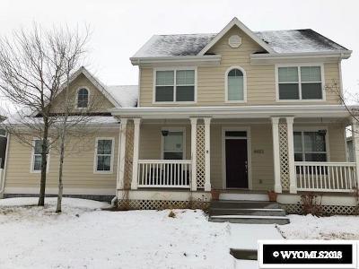 Casper Single Family Home Pending-Continue To Show: 4433 E 18th