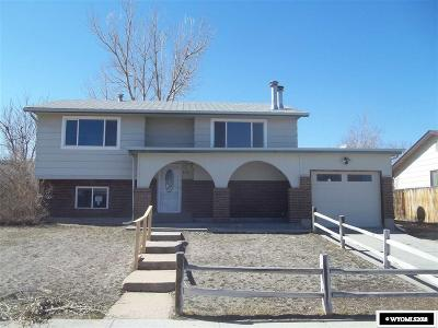 Casper Single Family Home For Sale: 3116 Herrington