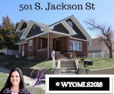 Casper Single Family Home For Sale: 501 S Jackson