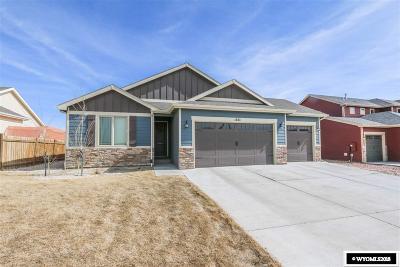 Casper Single Family Home For Sale: 1283 River Heights