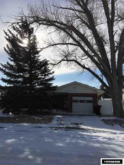 Casper WY Single Family Home New: $174,900