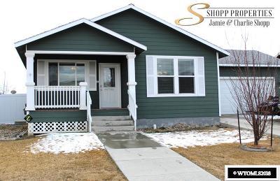 Casper Single Family Home For Sale: 6419 Little Moon