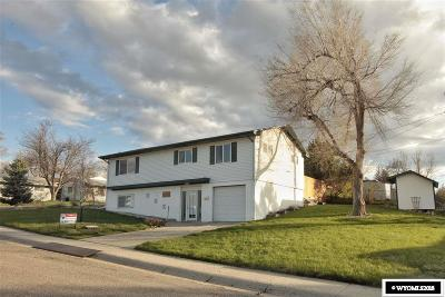 Casper Single Family Home For Sale: 1845 Amherst