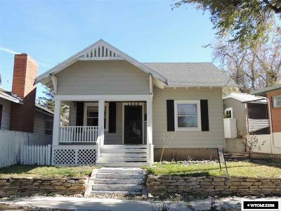 Casper Single Family Home For Sale: 1035 Bonnie Brae Ave