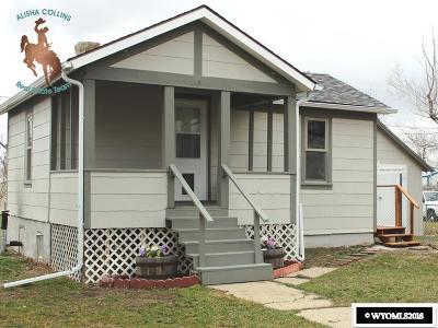 Casper Single Family Home For Sale: 112 N Fenway