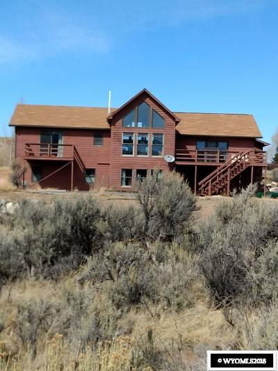 Dubois WY Single Family Home Pending-Continue To Show: $525,000