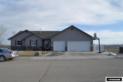 Buffalo WY Single Family Home For Sale: $395,000