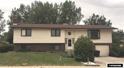 Casper Single Family Home For Sale: 1584 Trojan