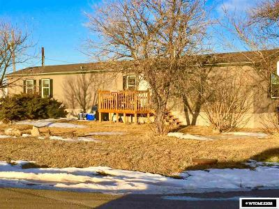 Casper Single Family Home For Sale: 3370 Mitchie