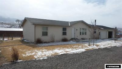 Dubois,  Kinnear,  Crowheart, Pavillion Single Family Home Pending-Continue To Show: 1419 Fairview
