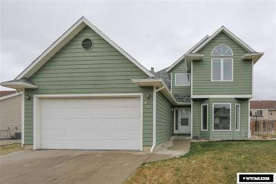 Casper Single Family Home For Sale: 6121 S Walnut