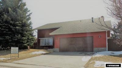 Casper WY Single Family Home For Sale: $372,000