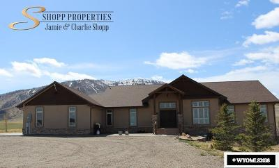 Casper Single Family Home For Sale: 6600 Hat Six