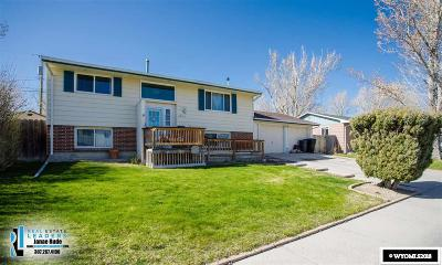 Casper WY Single Family Home New: $205,000
