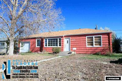 Casper WY Single Family Home For Sale: $140,000