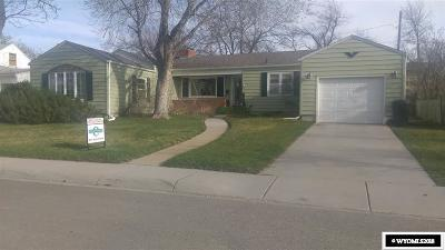 Casper WY Single Family Home For Sale: $239,000