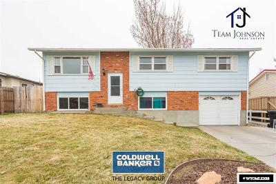 Casper WY Single Family Home For Sale: $180,000