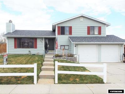 Casper Single Family Home New: 2834 Cherokee