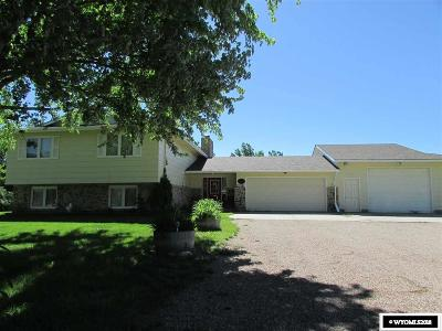 Casper Single Family Home For Sale: 1811 Piney Creek Road