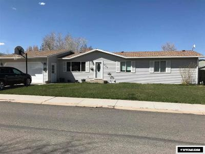Single Family Home For Sale: 435 S Cottonwood Drive