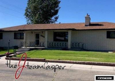 Casper, Evansville, Bar Nunn, Glenrock, Douglas, Midwest, Alcova Single Family Home For Sale: 2490 Allyson Place