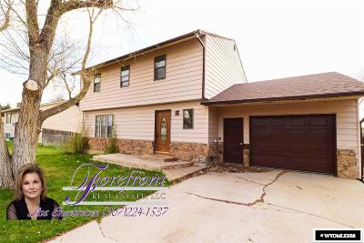 Casper Single Family Home For Sale: 18 Jonquil