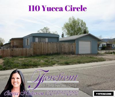 Casper Single Family Home For Sale: 110 Yucca Circle